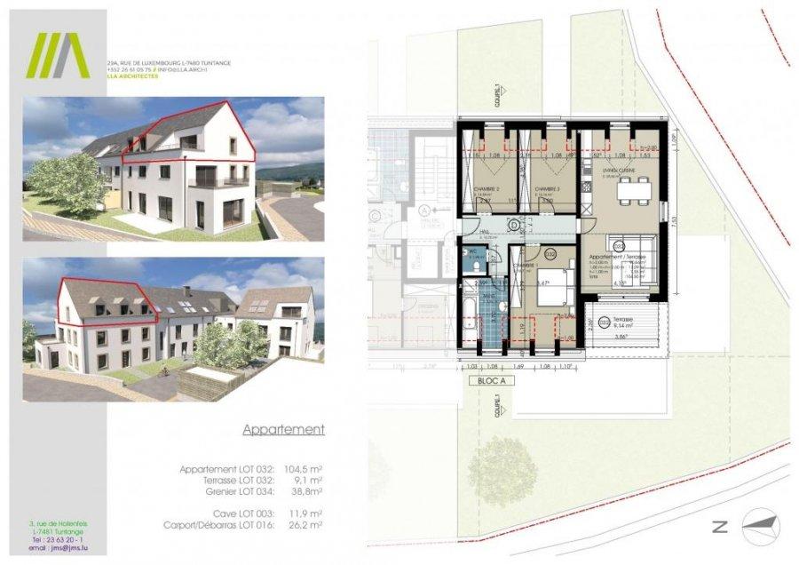 acheter appartement 3 chambres 104.5 m² buschdorf photo 2