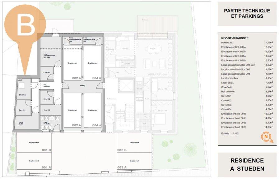 Penthouse à vendre 3 chambres à Peppange