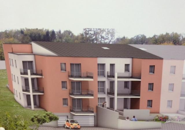 acheter appartement 3 pièces 69 m² russange photo 1