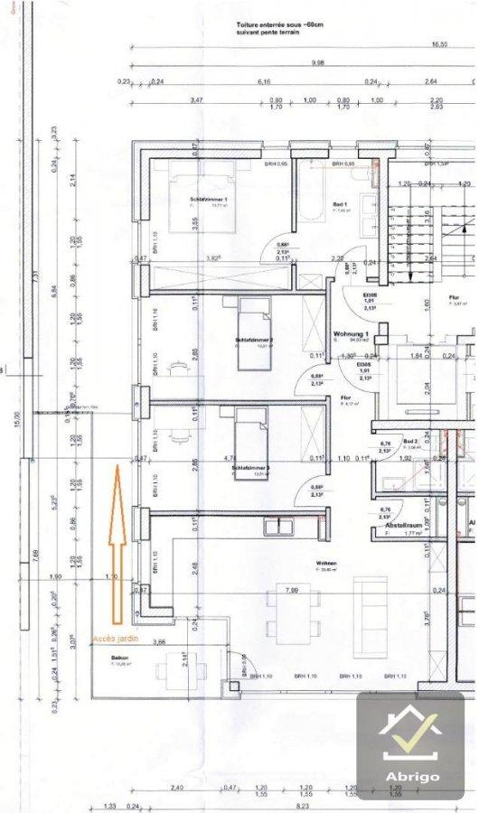 acheter appartement 3 chambres 94.12 m² junglinster photo 2