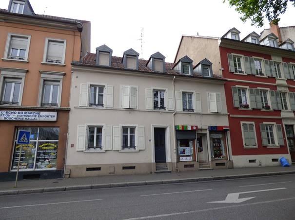 appartement louer mulhouse 45 m 400 immoregion. Black Bedroom Furniture Sets. Home Design Ideas