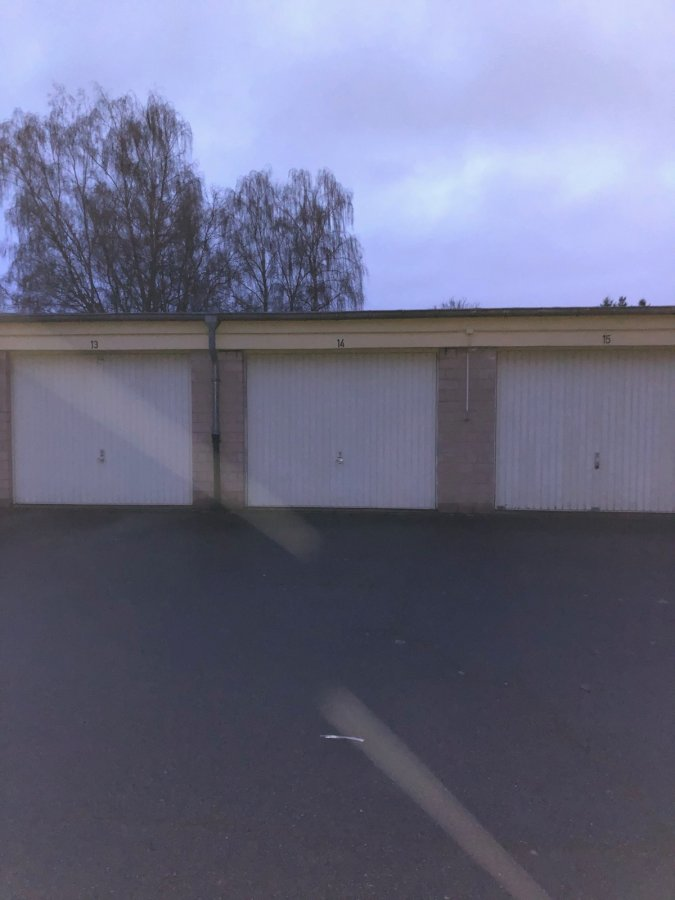 Garage fermé à louer à Bereldange