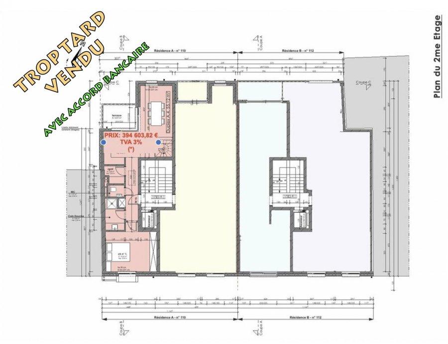Duplex à vendre 1 chambre à Pétange