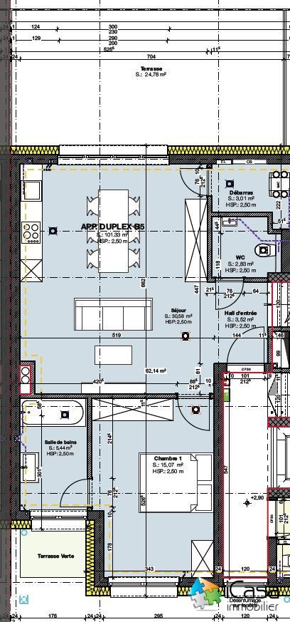 Appartement à vendre 3 chambres à Moestroff