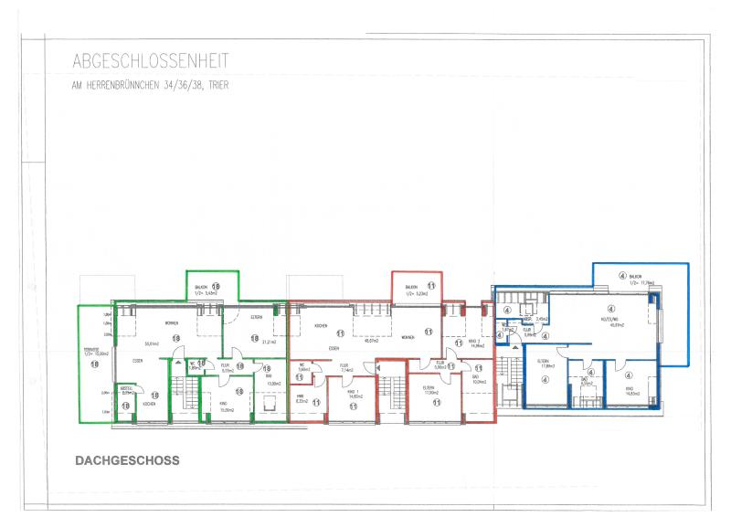 wohnung kaufen 3 zimmer 113.81 m² trier foto 3