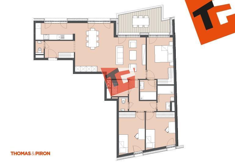 acheter appartement 3 chambres 114.29 m² schifflange photo 1