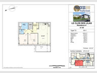 Appartement à vendre F3 à Aumetz - Réf. 7209022
