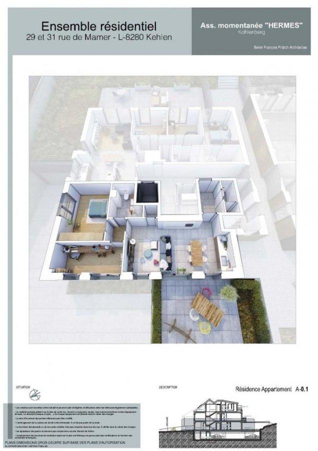 acheter appartement 1 chambre 67 m² kehlen photo 4