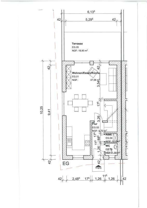 reihenhaus kaufen 5 zimmer 142 m² kirf foto 7