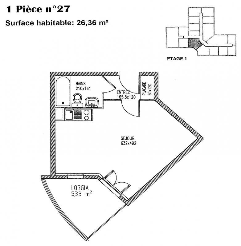 louer studio 1 pièce 26 m² metz photo 3