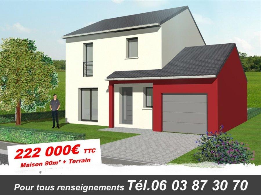 acheter maison individuelle 5 pièces 90 m² metz photo 1