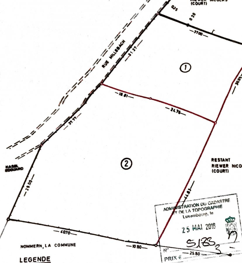 acheter terrain constructible 0 chambre 0 m² nommern photo 1