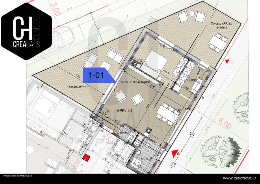 acheter appartement 1 chambre 57.45 m² mamer photo 2