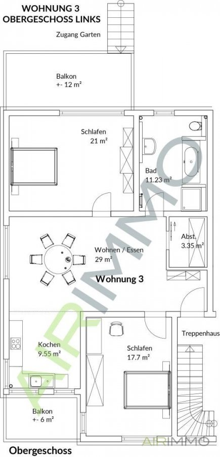 apartment for rent 0 room 92 m² esslingen photo 2