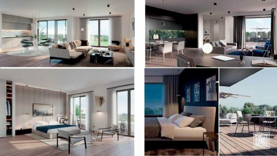 acheter appartement 1 chambre 42 m² bertrange photo 3