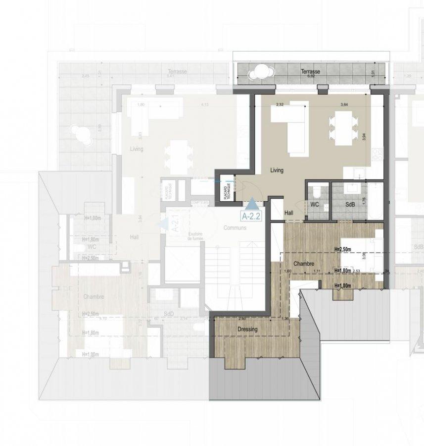acheter penthouse 1 chambre 51 m² kehlen photo 4