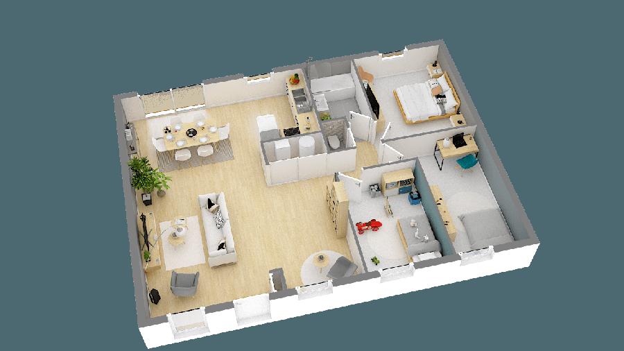 acheter maison 5 pièces 89 m² besné photo 6