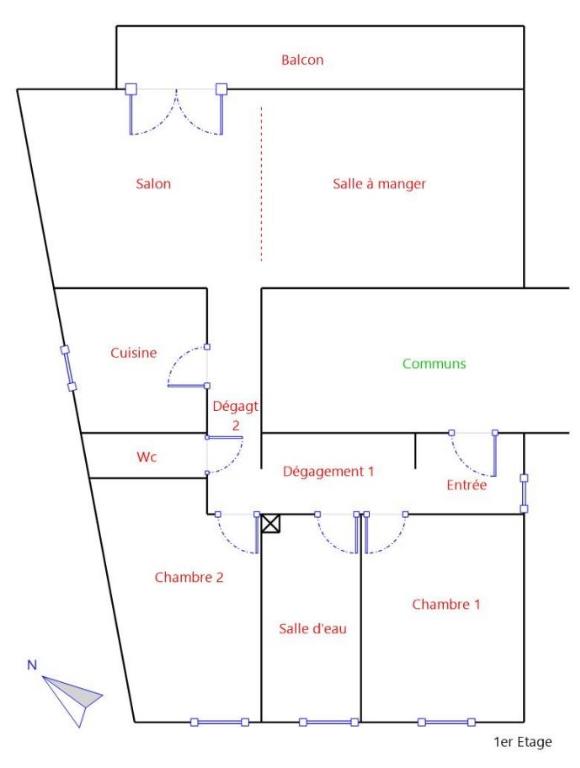acheter appartement 4 pièces 83.75 m² hettange-grande photo 2