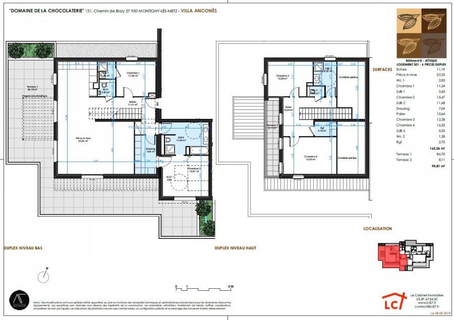acheter appartement 6 pièces 162.06 m² montigny-lès-metz photo 4