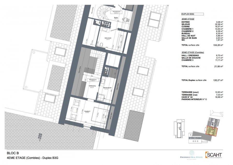 acheter appartement 3 chambres 159 m² eschweiler (wiltz) photo 3