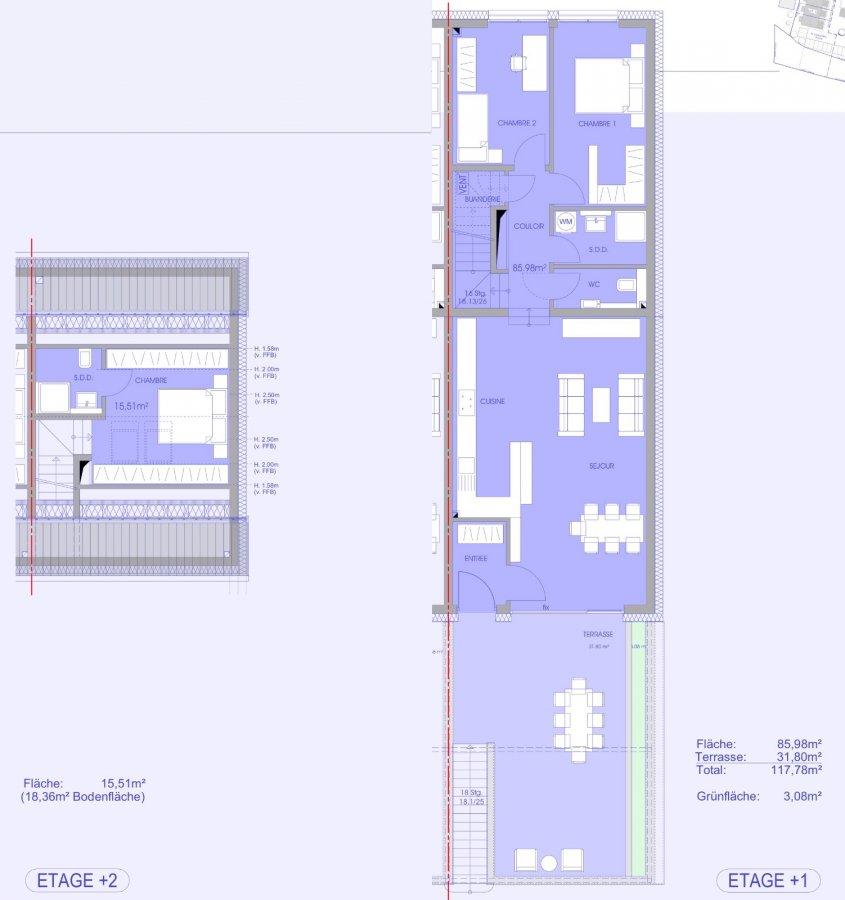 wohnung kaufen 3 schlafzimmer 113.03 m² niederanven foto 2