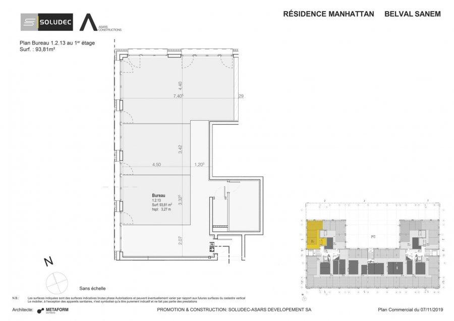 acheter bureau 0 chambre 93.81 m² belval photo 1