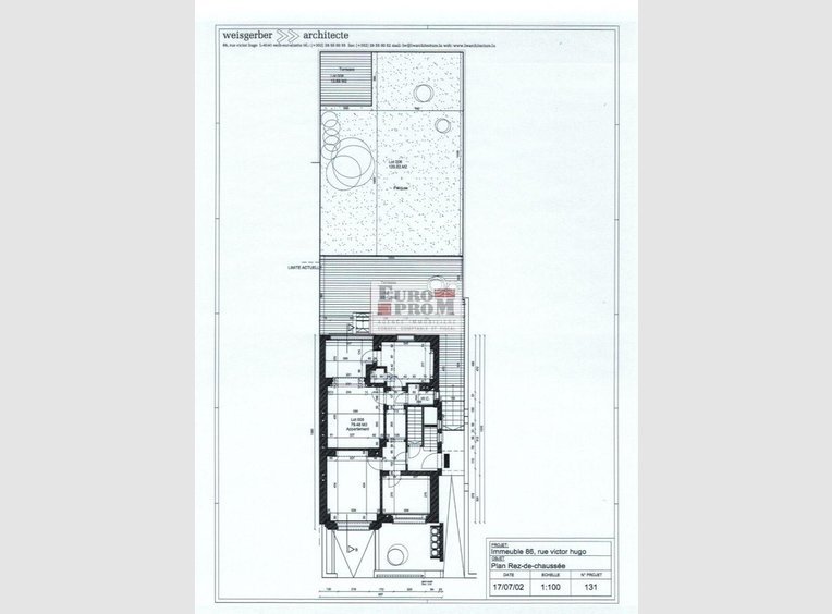 Bureau à louer à Esch-sur-Alzette (LU) - Réf. 6622046
