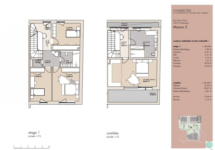 acheter maison mitoyenne 4 chambres 209.27 m² dudelange photo 3