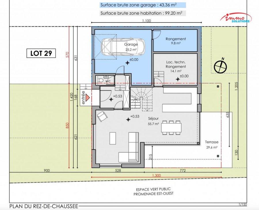 acheter maison mitoyenne 4 chambres 242.01 m² steinfort photo 7