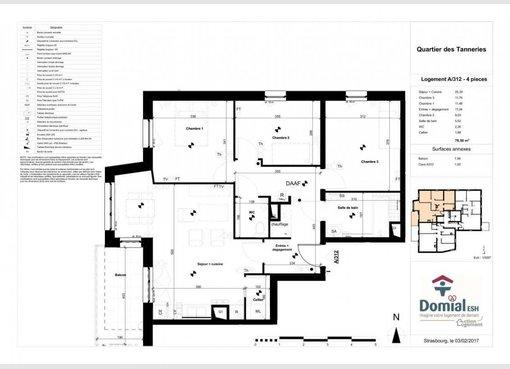 Vente appartement f4 lingolsheim bas rhin r f 5367150 for Location garage lingolsheim