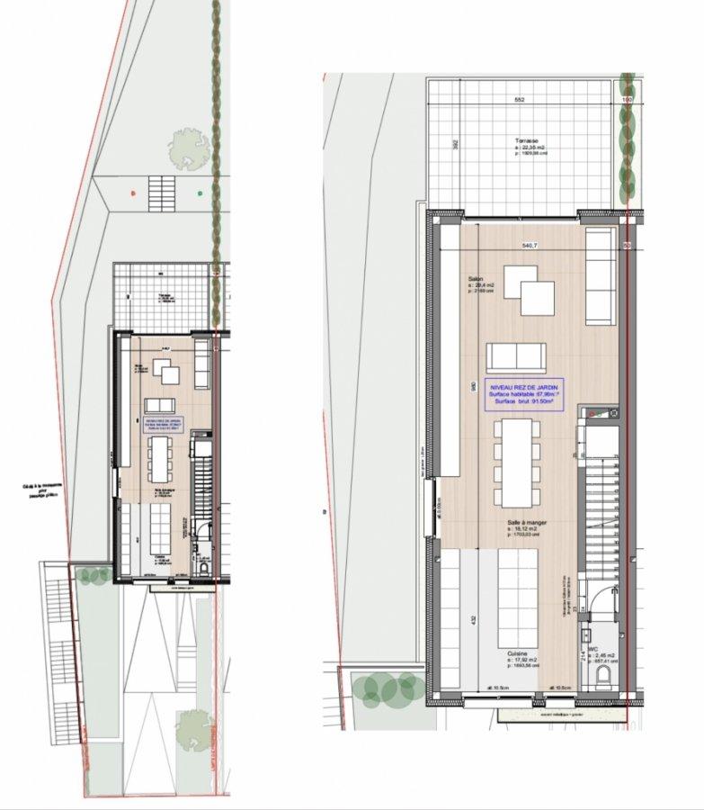 acheter maison mitoyenne 4 chambres 156.4 m² sanem photo 3