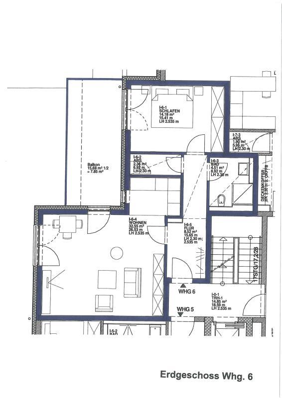 wohnung mieten 2 zimmer 69.97 m² trier foto 5