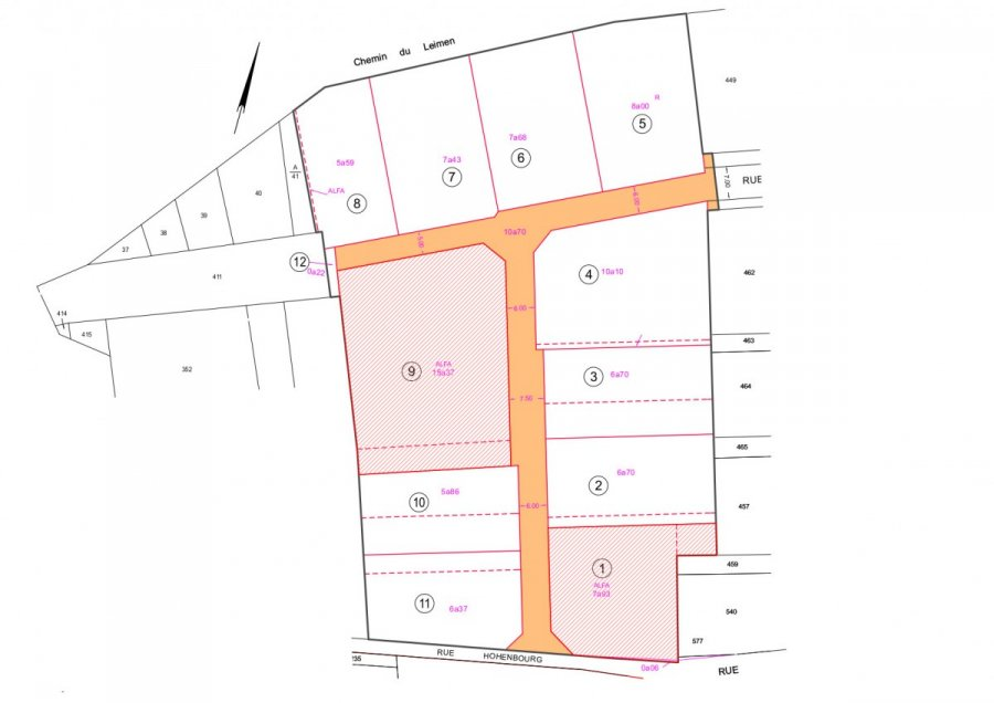 acheter terrain constructible 0 pièce 7.67 m² rosheim photo 1