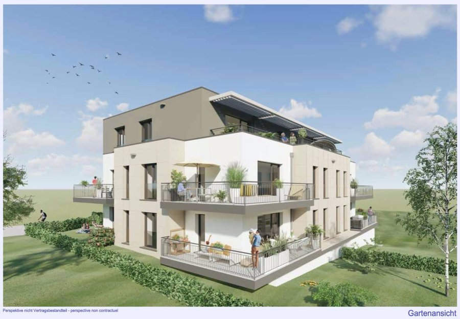 penthouse for buy 4 bedrooms 202.21 m² strassen photo 1