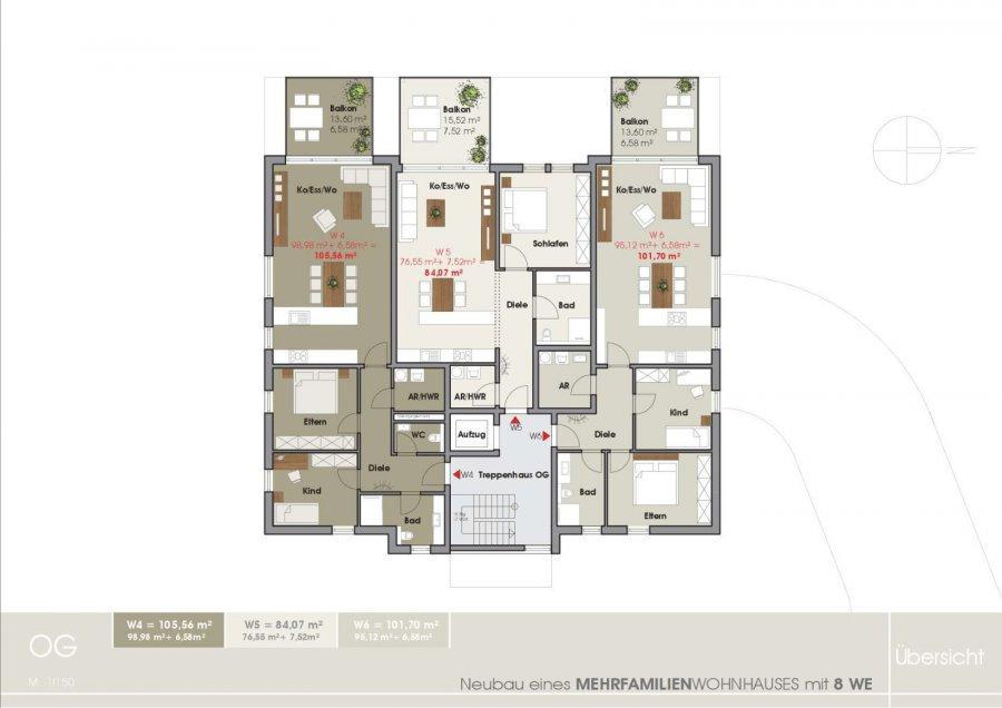 wohnung kaufen 2 zimmer 85.25 m² tawern foto 3