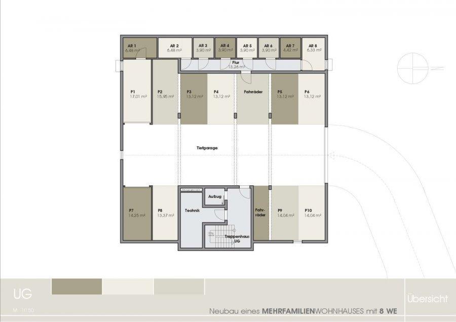 wohnung kaufen 2 zimmer 85.25 m² tawern foto 4