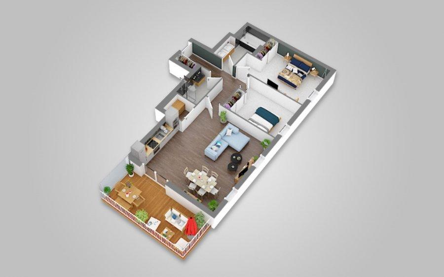 wohnung kaufen 2 schlafzimmer 86 m² hesperange foto 3