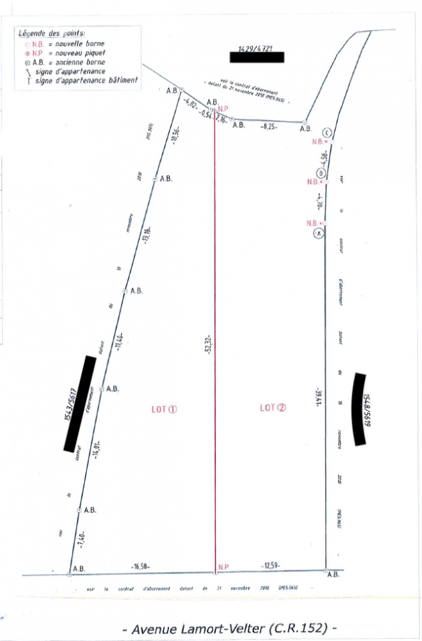 Terrain constructible à vendre à Remich
