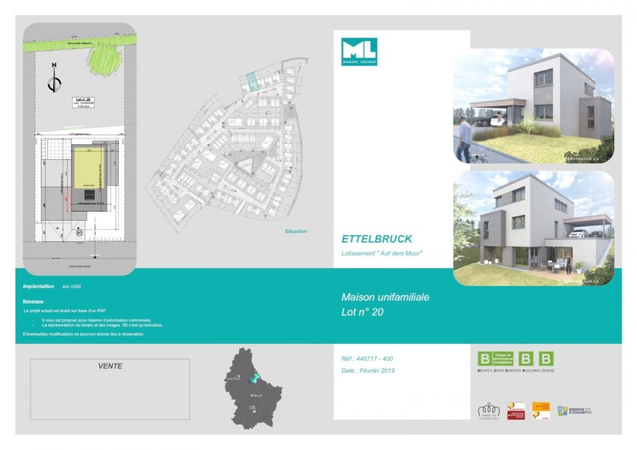 acheter maison 4 chambres 165 m² ettelbruck photo 4