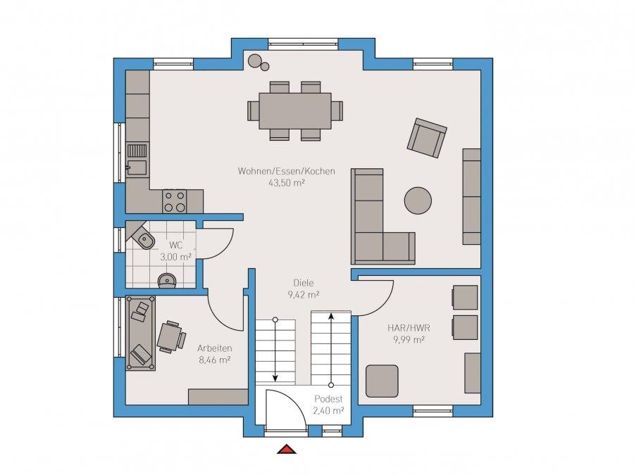 haus kaufen 5 zimmer 143 m² taben-rodt foto 3