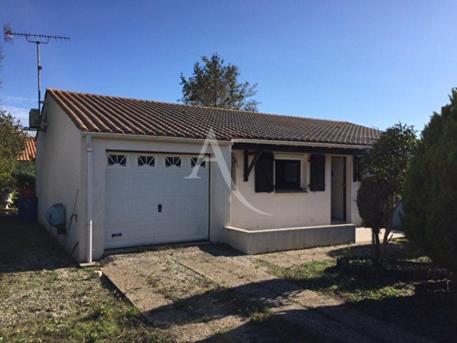 acheter maison 4 pièces 92 m² longeville-sur-mer photo 1