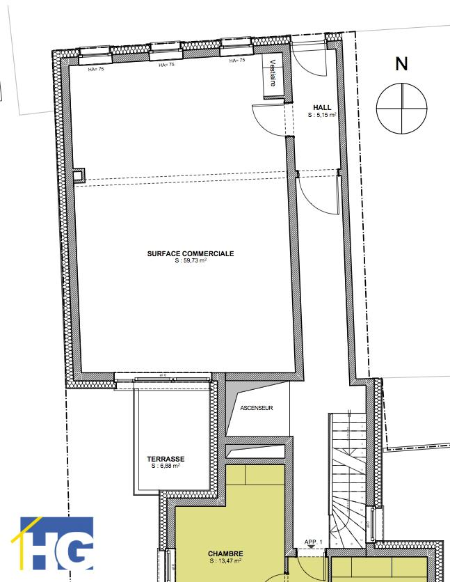 acheter fond de commerce 1 chambre 63.17 m² hobscheid photo 2