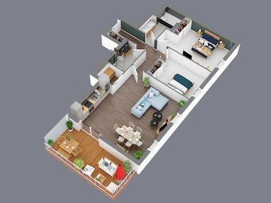 Appartement à vendre 2 Chambres à Hesperange - Réf. 5921934