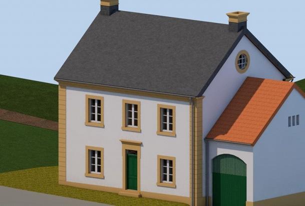 acheter maison mitoyenne 3 chambres 130 m² osweiler photo 2
