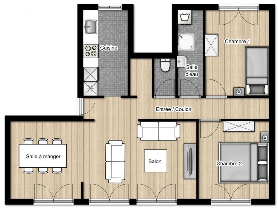 acheter appartement 4 pièces 70 m² clouange photo 6