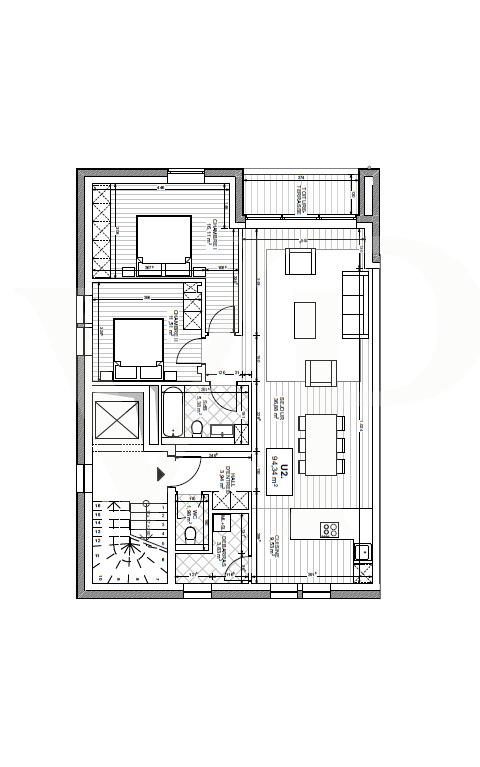 acheter appartement 2 chambres 94.34 m² useldange photo 4