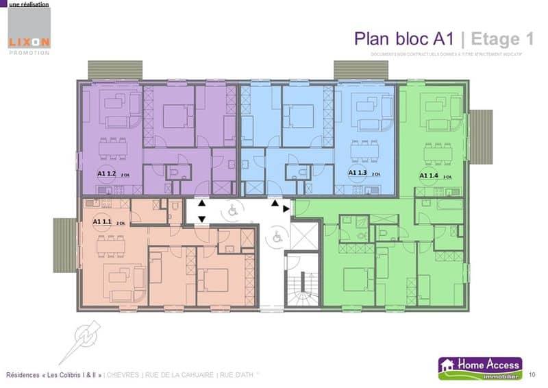 acheter appartement 0 pièce 78 m² chièvres photo 4