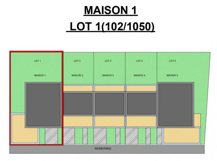 acheter maison jumelée 4 chambres 200 m² roullingen photo 3