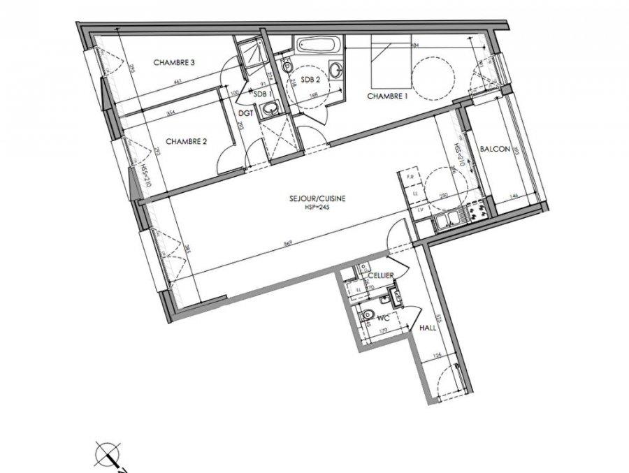 acheter appartement 4 pièces 104.4 m² lille photo 2
