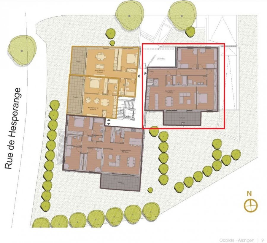 acheter appartement 3 chambres 126.7 m² alzingen photo 3